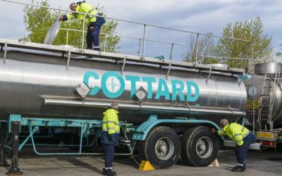 Transport Cottard recherche 2 nouveaux chauffeurs Poids Lourds